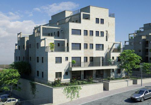 צור הדסה 5 חדרים חדש עם נוף